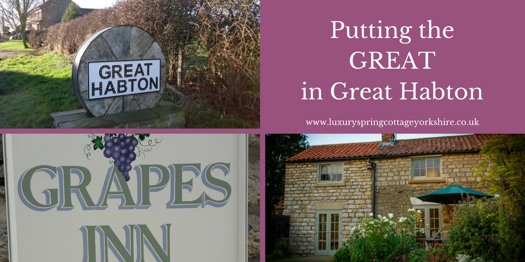 Putting the Great into Great Habton