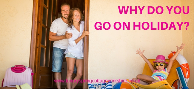 Why Do You Go On Holiday?