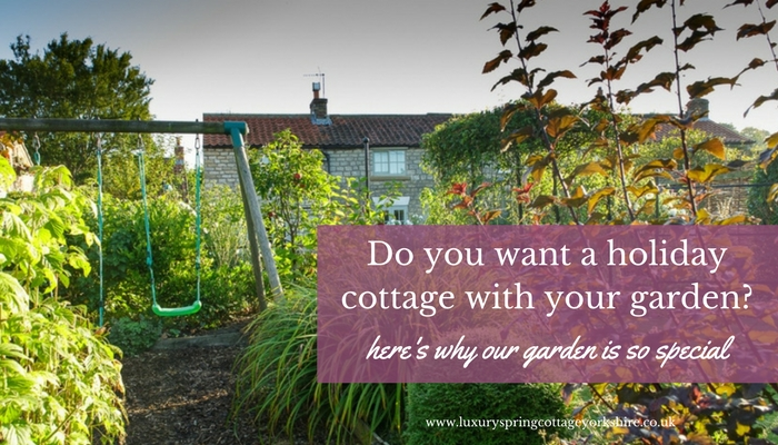 A Child-Friendly Garden With A Yorkshire Holiday Cottage